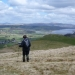 Aran ridge descent looking to Bala Lake