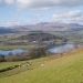 Arenig mountains over Bala Lake