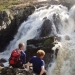 Walks along steep valleys with waterfalls
